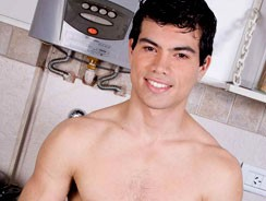 Latino Stud Andres from Buenos Boys