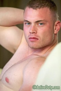 Amateur Hunk Nolan from Active Duty