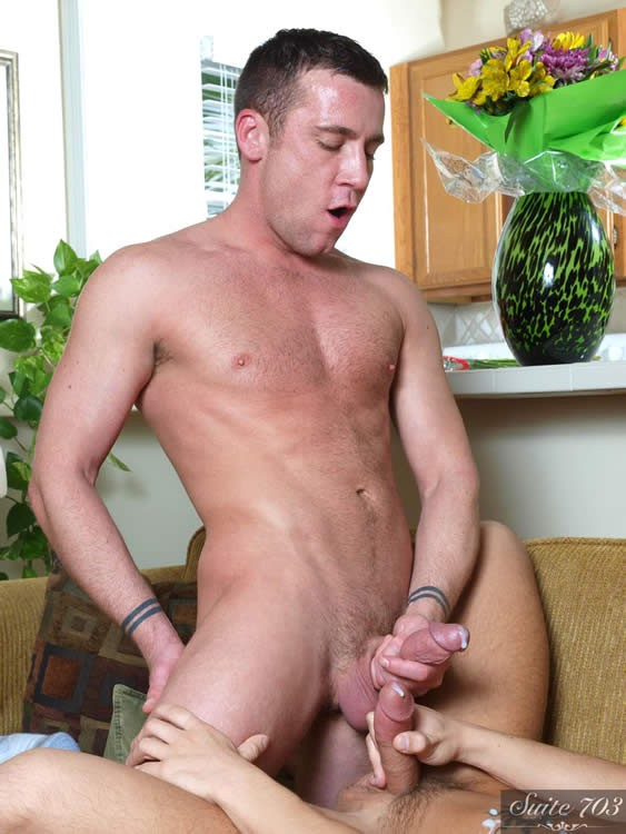 bang Two hairy gay Pups pounding Married Trevor Knight team-