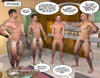 Naked Charades from 3d Gay World