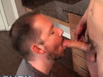 Sucking Trevor Grant from Suck Off Guys