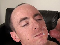 Shane Strides 1st Facial from Suck Off Guys