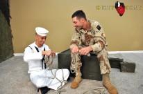 Naked Marine from Dirty Tony
