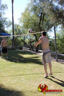 Volleyball Turns Ball from Phoenixxx