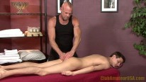 Chad Massages Mike from Club Amateur Usa