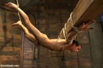 Logan Scott Tied from Bound Gods