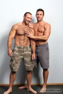 Logan And Brad Kalvo from Cocksure Men