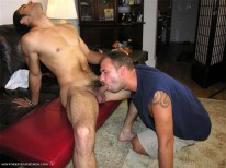 Trey Sucks Ryders Cock from New York Straight Men