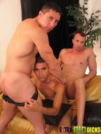 Magnus And Angel And Diego from Extra Big Dicks