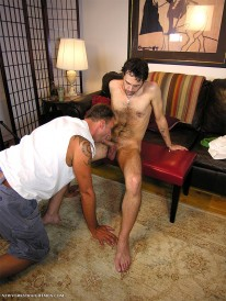 Trey Sucks Nicks Dick from New York Straight Men
