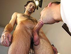 Trey Sucks Nicks Dick from New York Straight Men