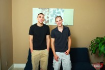 Chad And Aj from Broke Straight Boys
