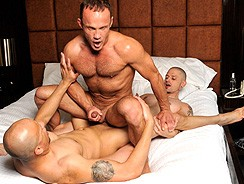 Damian Trevor Chris from Bareback That Hole