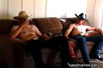 Cowboy Buddies from Awol Marines