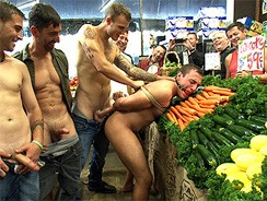 Grocery Store Fuck from Bound In Public