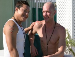 Lifeguard Sucks Off A Guest from Gay Sex Resort