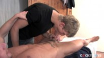 Kevin Alex Steamy Massage from Cocky Boys
