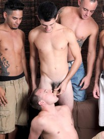 4 Guys On Garrett from Straight Fraternity