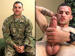 Army Specialist Brad from Naked Marine