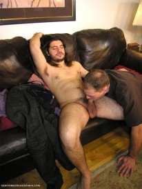 Servicing Adam from New York Straight Men