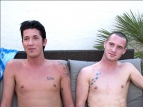 Jordan And Aiden from Broke College Boys