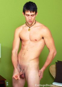 Brandon Rose Busts Nut from College Dudes