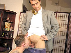 Lunch Hour Special from New York Straight Men