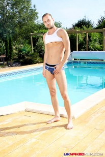 Dimitri Leskov In Pool from Uk Naked Men