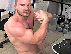 Gay Porn - Hell Of A Blast from Str8cam Jeff
