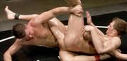 Cayden Vs Shane Oil Match from Naked Kombat