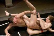 Cayden Vs Shane Oil Match from Naked Kombat