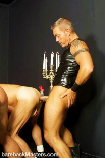 Three Men And A Dildo from Bareback Masters