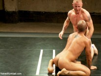 Brenn Wyson And Leo Forte from Naked Kombat