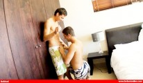 Luke And Ariel Train Gael from Bel Ami Online