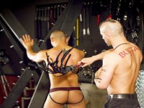 Leo Forte And Tony Buff from Fetish Force