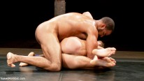 Gavin Waters Vs Roman W from Naked Kombat
