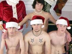 Straight Boy Xmas Party from Straight Boys Jerk Off