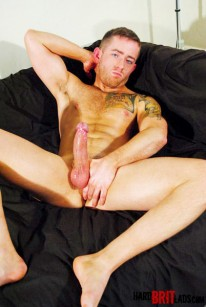 Oliver James from Hard Brit Lads