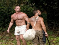 Blake And Steve from Hairy Boyz