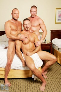 Lee D Chad Brock Colin S from Bareback That Hole