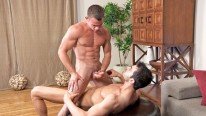 William And Troy Bareback from Sean Cody
