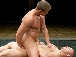 Tyler Saint Vs Samuel Col from Naked Kombat