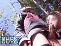 Sucking Off Big Wood from Suck Off Guys