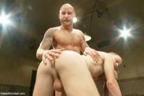 Drake Jaden And Patrick Hunt from Naked Kombat