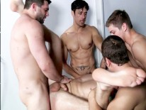 Sebastian Keys Gang Bang from Men