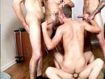 Gang Surprise Inspection from Men