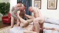 Dylans Bareback Orgy from Hot Barebacking