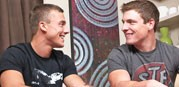 Joshua And Curtis Bareback from Sean Cody