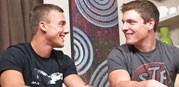 Joshua And Curtis Bareback from Sean Cody