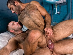 Gay Porn - Bruno Knight And Jason Michae from Hairy Boyz
